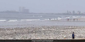 Nature Plays 'Tit For Tat': Juhu Beach Vomits Tonnes Of Garbage Along Mumbai Shores