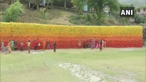 15,000 Discarded Plastic Bottles Used To Build A 'Wall Of Hope' In Mussoorie
