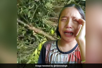 9-Year-Old Girl, Seen Crying Over Felled Trees Made Manipur's 'Green Ambassador'
