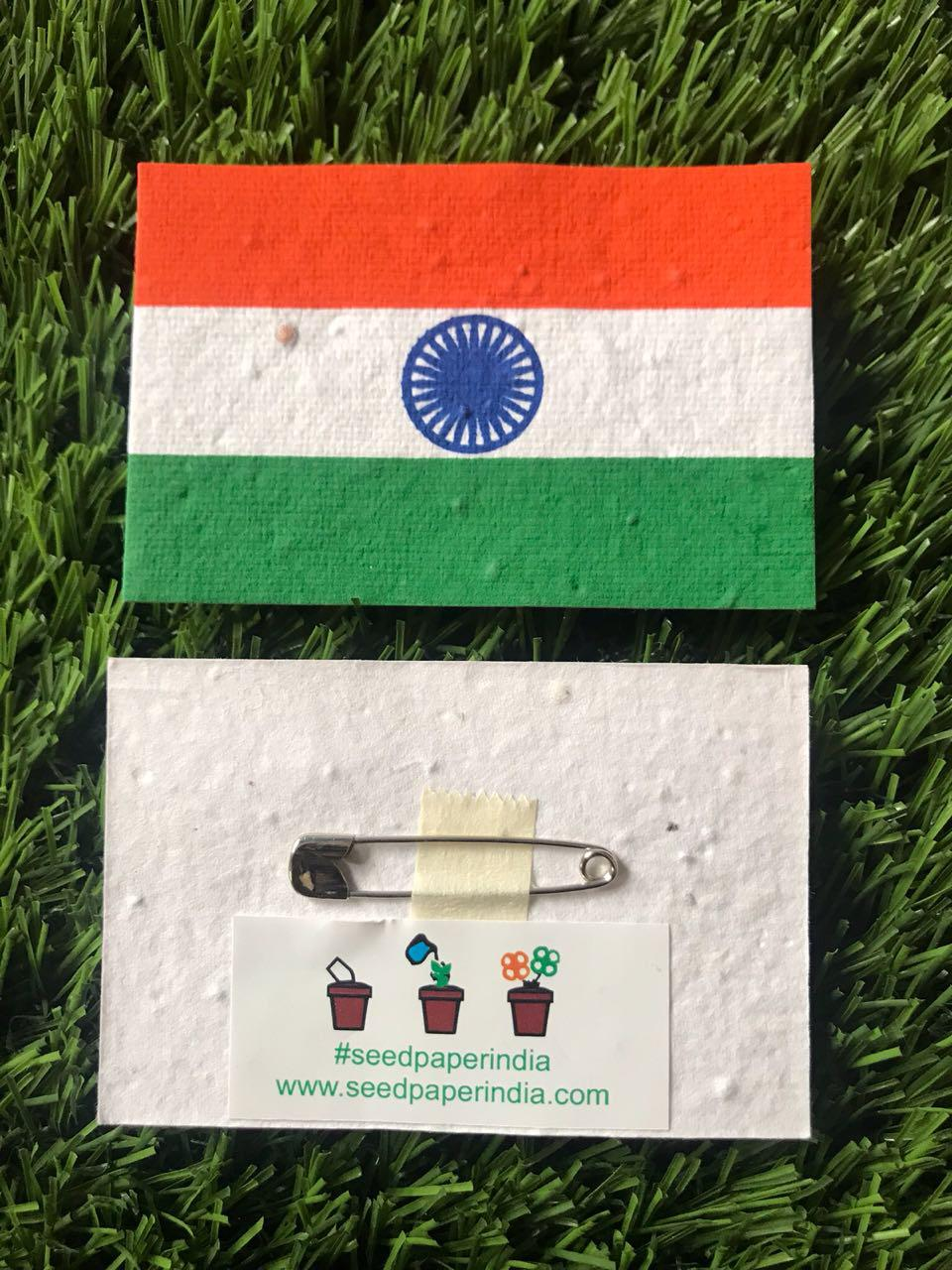 Flags That Grow Into Plants, This Independence Day #BeatPlasticPollution With This Nature Friendly Alternative
