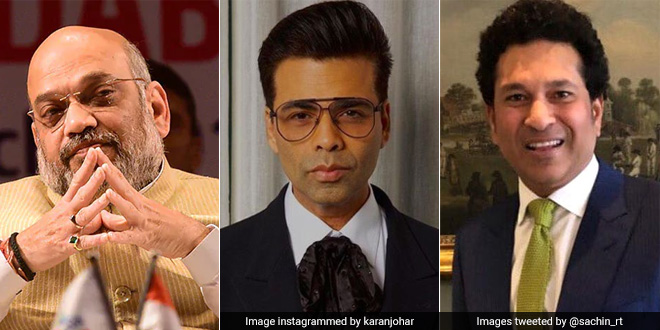 From Karan Johar, Sachin Tendulkar To Amit Shah Among Many Who Lend Support To PM Modi's Fit India Movement