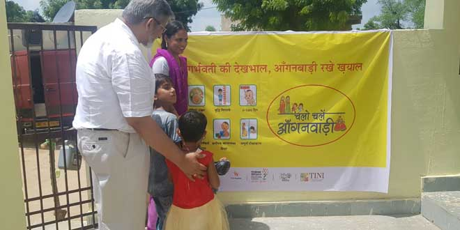 Cleanliness And Nutrition Go Hand In Hand In This Anganwadi in Rajasthan