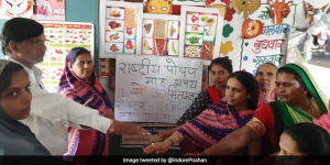 Poshan Month: People From Across The Nation Lead The Fight Against Malnutrition By Participating in 'Poshan Maah 2019'