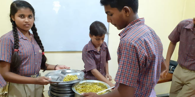 National Nutrition Month: This Gurgaon School Provides Power Lunch To Its Students To Tackle Malnutrition
