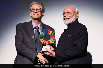 PM Modi Receives Global Goalkeeper Award For Swachh Bharat Mission, Dedicates It To 1.3 Billion Indians