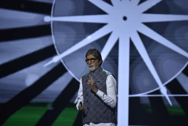 """Banega Swasth India: """"We Dream Of A Clean, Healthy India"""" Says Amitabh Bachchan During 12-Hour Swasthagraha"""