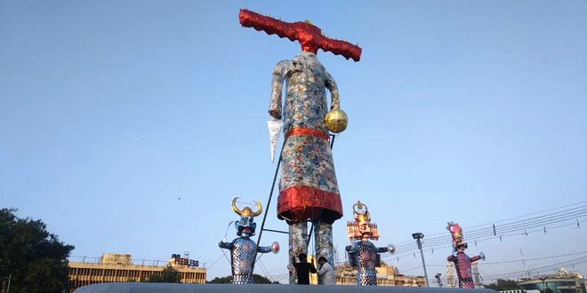 Dussehra 2019: Delhi Celebrates The Victory Of Good Over Evil, Makes Ravana's Effigy Using Single-Use Plastic