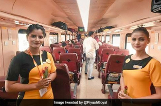 Passengers In Lucknow-Delhi Bound Tejas Express Get Biodegradable Water Bottles