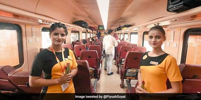 Passengers In Lucknow-Delhi Bound Tejas Express Get Biodegradable Water Bottles