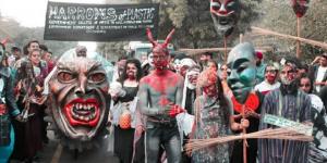 Halloween 2019: Chandigarh Sensitises People With The Theme 'Harrows Of Plastic' Says #PlasticKaTimeUp