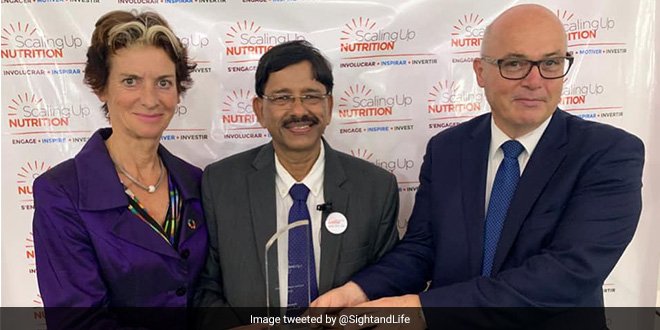 Investing In Nutrition Is Critical For Economic Growth Of India: Basanta Kar, Nutrition Leadership 2019 Awardee