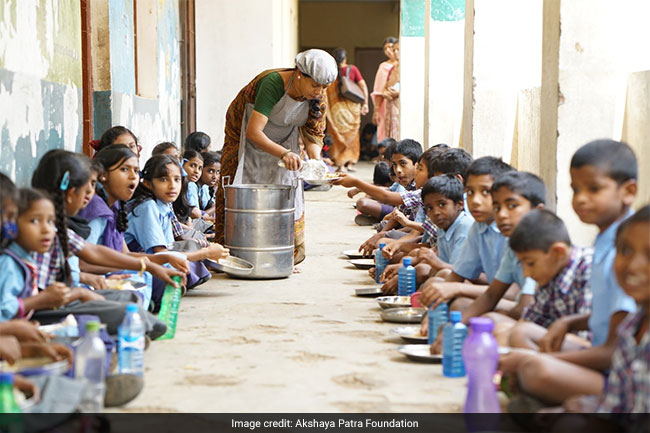 Inside The Kitchen Of Akshaya Patra, The Nutrition Warrior That Is Feeding Millions Of Children Across The Nation