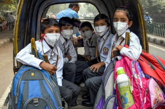 On Children's Day Shut Schools Due To Worsening Air Pollution; Social Media Reacts