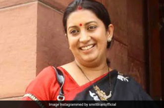 Only 9 Per Cent Children Get Nutritious Food: Union Minister Smriti Irani