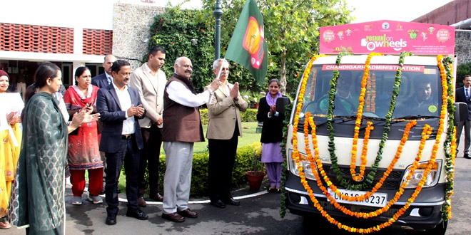 'Poshan On Wheels': Two Mobile Anganwadi Vans Flagged Off In Chandigarh To Feed Children And Fight Malnutrition
