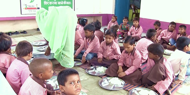 UP's Bahraich District Focuses On School Children To Improve Its Health, Hygiene And Nutrition Status