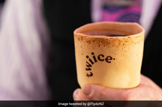 Drink Your Coffee Then Eat The 'Dishes': Air New Zealand Switches To Edible Coffee Cups