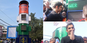 Delhi's First Smog Tower: Delhiites Get A Giant Air Purifier To Combat Air Pollution
