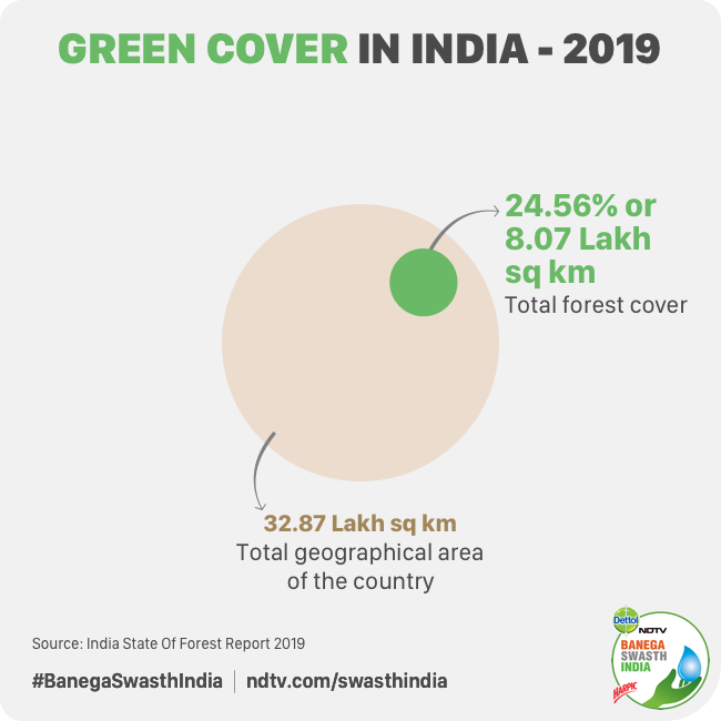While Green Cover In India Has Increased By 0.65%, Existing Forests Are Thinning: India State Of Forest Report 2019