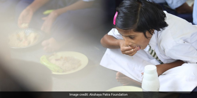 Blog: Akshaya Patra Deploys Technology To Serve 1.8 Million Children Midday Meals