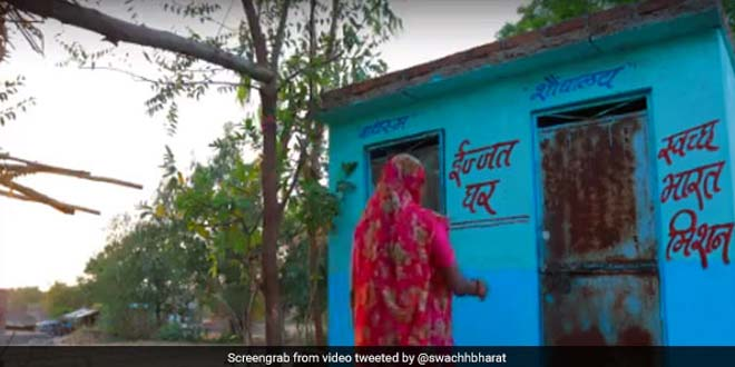 This Family In Uttar Pradesh's Barabanki District Turns Toilet Into Kitchen, Defecates In Open