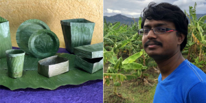 Replacing Single-Use Plastic, One Leaf At A Time: This 20-Year-Old's Invention Can Help Tackle The Rising Plastic Waste Crisis