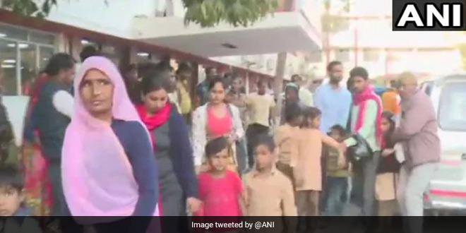 17 Students Hospitalised In Ajmer After Consuming Milk During Mid-Day Meal