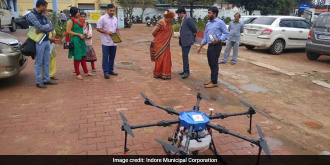 A single drone can cover up 200,000 square metre area per day and can reach 200 feet height, running with GPS satellite based system