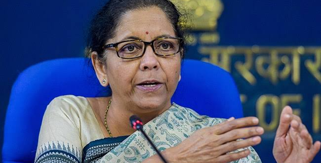 Almost 8.3 crore families who are below poverty line will get free cooking gas cylinders for the next three months, the Finance Minister announced