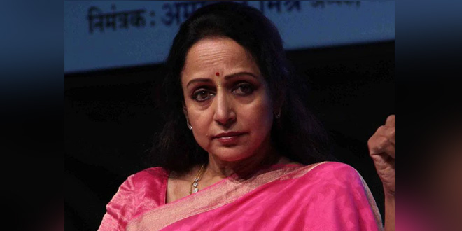 Veteran Actress Hema Malini Urges People To Follow Government Guidelines To Fight Against COVID-19