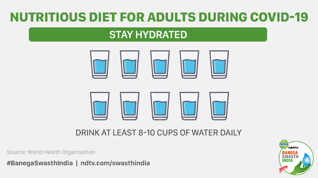 Nutrition And COVID-19: Drink Ample Water, Eat Unprocessed Food, Advises WHO To Lower Risks Of Infections