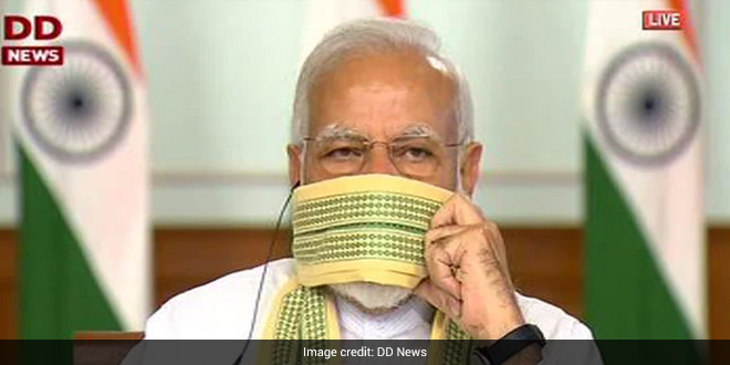 PM Modi Says Self-Reliance Biggest Lesson From Pandemic, Hails 'Do Gaz Ki Doori' Mantra To Combat Virus