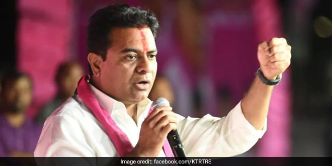 Telangana Is Inching Towards Becoming A COVID-Free State By May 8: KT Rama Rao