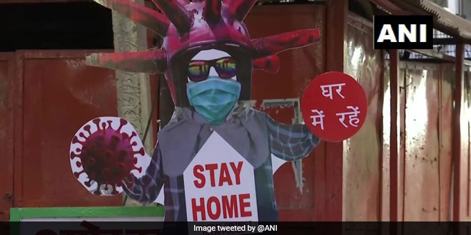 Delhi Police's 'Scarecrows' Urges People To Stay At Home, Stay Safe From Coronavirus