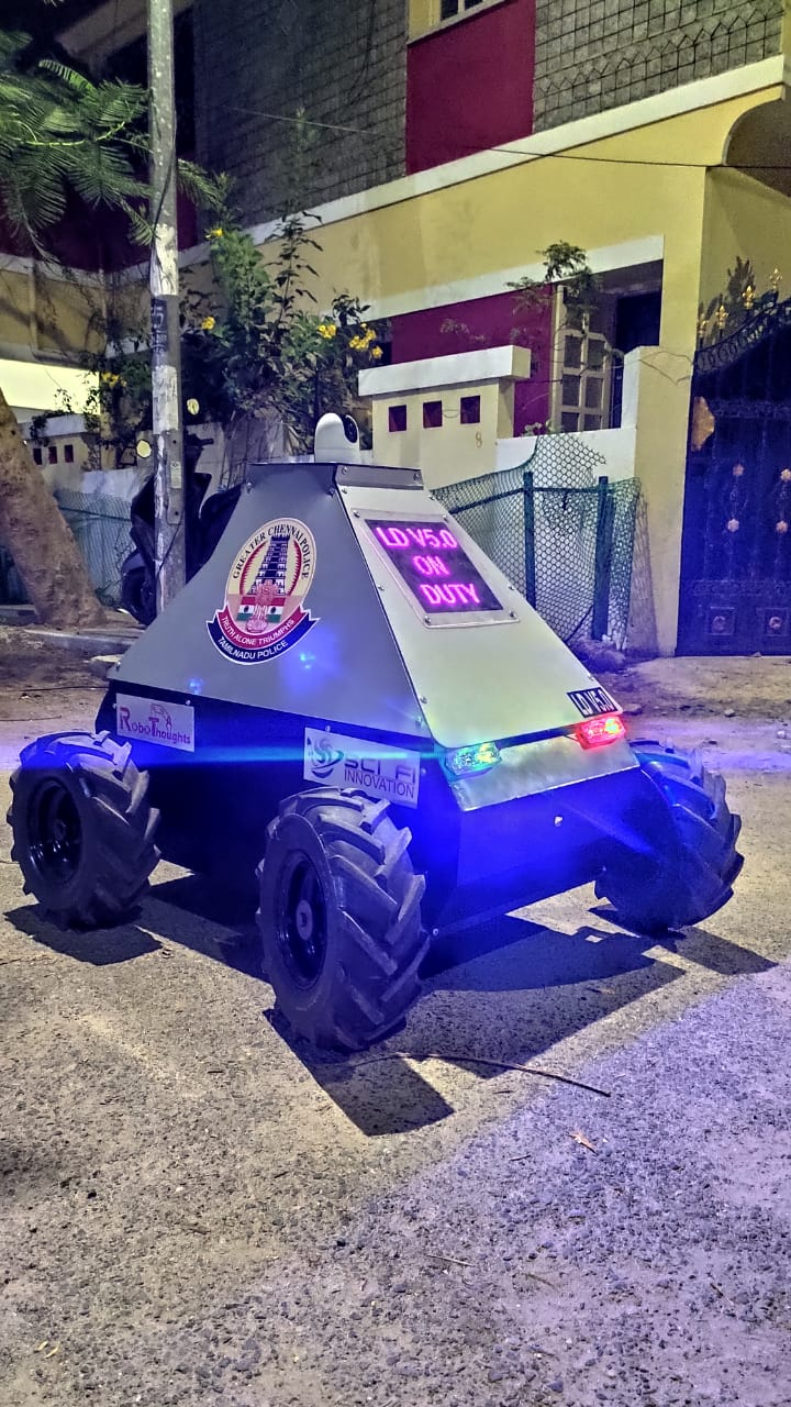 Chennai Police Gets A Prototype Of A 'Robot Cop' That Can Help Fight Coronavirus In Containment Zones