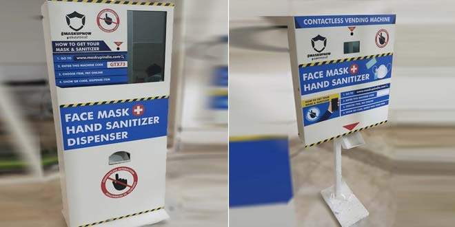 Coronavirus Outbreak: 'Mask Up Now', Says Delhi Based Firm With Their Innovative Contactless Delivery Of Face Masks