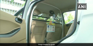 Social Distancing Lessons From Kerala: Cabs Install Transparent Partition To Prevent Spread Of COVID-19