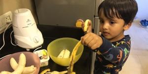 Coronavirus Warriors: This Three-Year-Old Put On This Baking Cap To Raise Money For The Mumbai Police Foundation