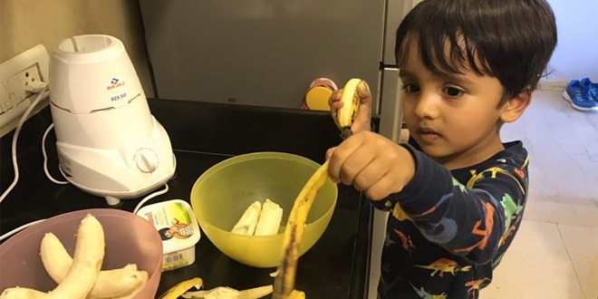 Coronavirus Warriors: This Three-Year-Old Put On This Baking Cap To Raise Money For The Mumbai Police Foundation