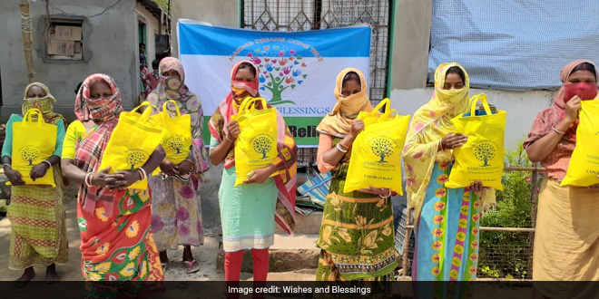 To Help The Underprivileged Facing The COVID-19 Lockdown, This Delhi-Based NGO Steps In With Nutrition Kits In 7 States