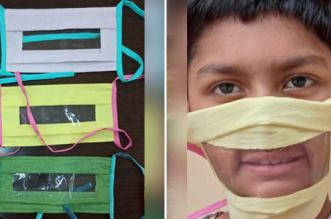 Dehradun Based Institute Produces Transparent Masks To Help The Hearing Impaired Amidst COVID-19 Outbreak