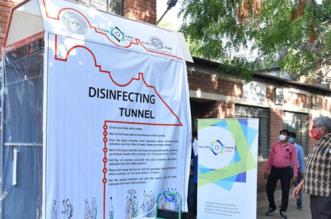 Fight Against COVID-19: IIT Kanpur Develops Advanced Disinfectant Tunnel With Three Levels Of Sanitisation