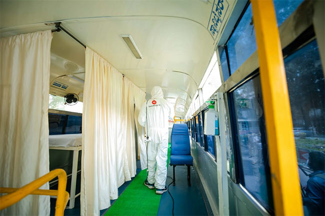 COVID-19 Testing: In A Fight Against Coronavirus, Remodelled Buses To Run As Mobile Clinics In Bengaluru