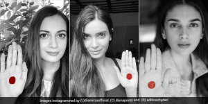 Celebrities Take The #RedDotChallenge And Take A Stand Against Period Shaming