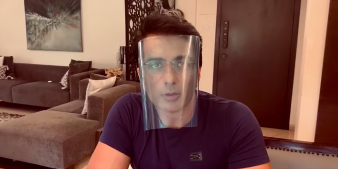 How To Make A Face Shield At Home To Fight Coronavirus, Actor Sood Shows A Do-It-Yourself Method