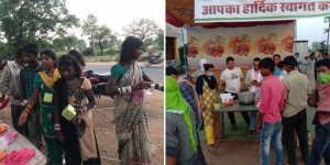 A Group Of Good Samaritans In Madhya Pradesh Is Feeding, Providing Essentials To The Labourers Amid Covid-19 Lockdown