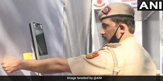 Delhi's RK Puram Police Station Steps Up Efforts To Keep Cops Safe From COVID-19