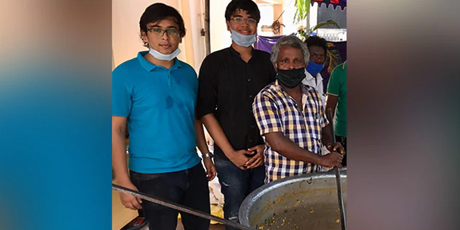 Brothers Who Came Back Home From The UK Turn Into Corona Warriors, Provide Food And Ration To People In Need In Chennai