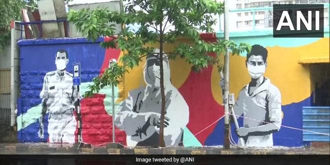 'Heroes Of Mumbai' Tag For Coronavirus Warriors, Western Railway Pays Tribute Through Wall Murals