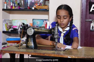 10-Year-Old Specially Abled From Karnataka Stitches Face Masks, Proves To Be A Beacon Of Positivity During Coronavirus Pandemic